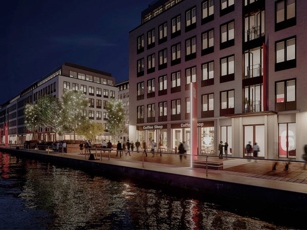 <span>Royal Albert Dock Development, London</span><i>→</i>