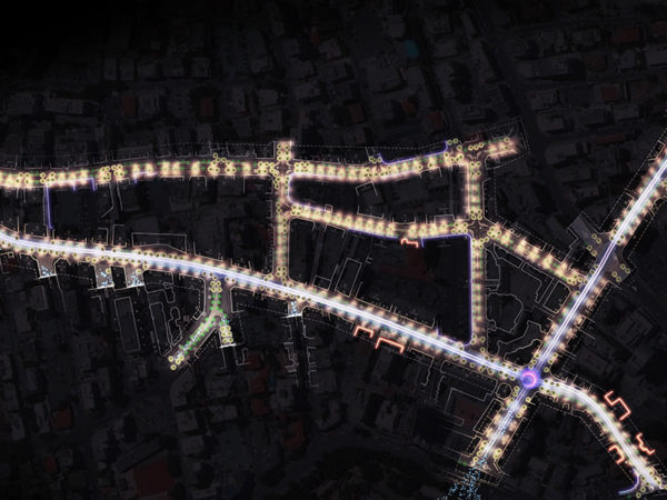 <span>Nicosia Commercial District Lighting Strategy</span><i>→</i>